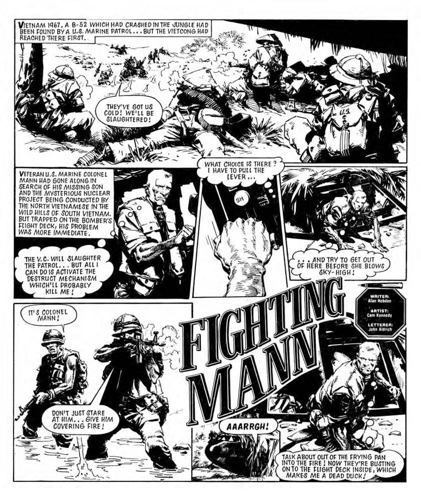 Garth Ennis Presents Battle Classics, Fighting Mann - War Dog by