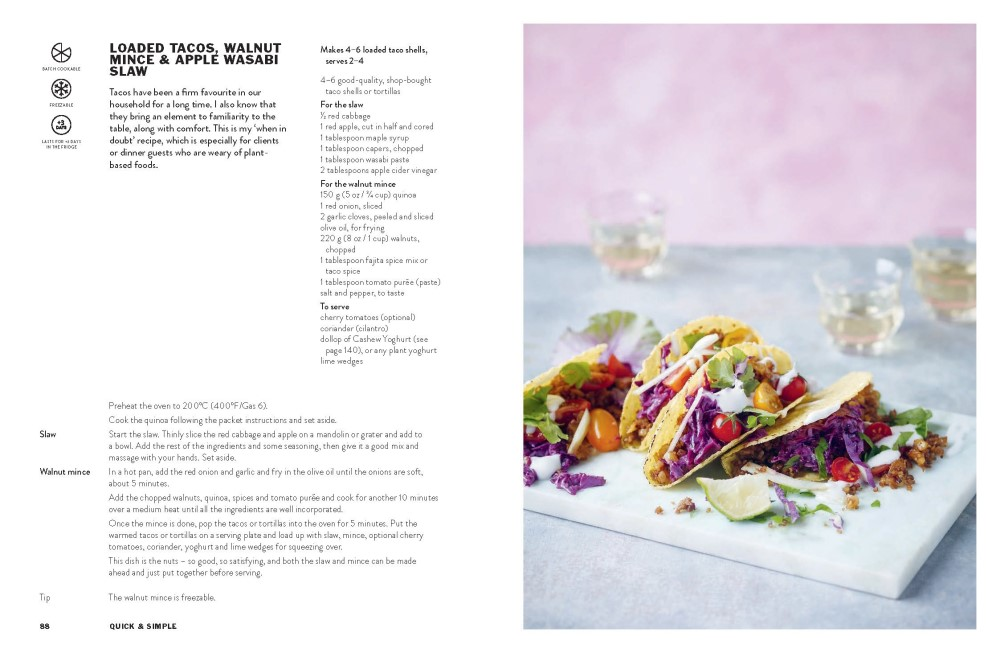 Happy Food, Fast, Fresh, Simple Vegan by Bettina Campolucci