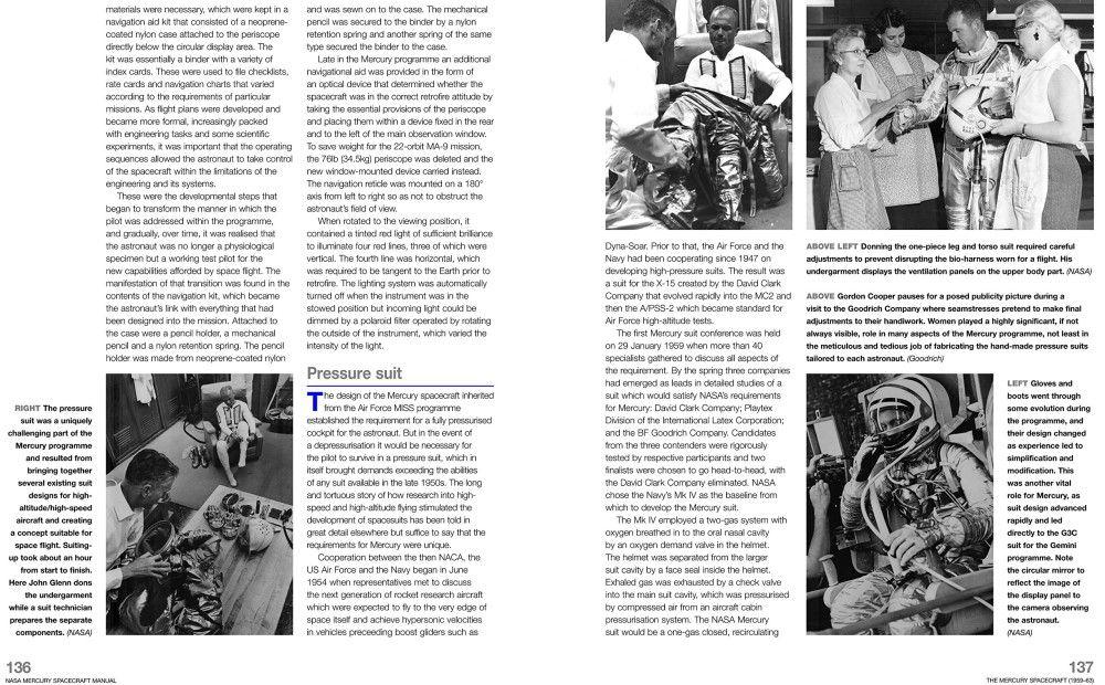 Haynes Manual NASA Mercury 1956-1963 Space Programme All Models