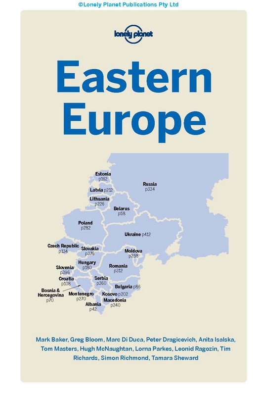 Booktopia eastern europe lonely planet travel guide 14th ebook view product fandeluxe Image collections