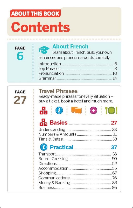 French Phrasebook & Dictionary, Lonely Planet Phrasebook