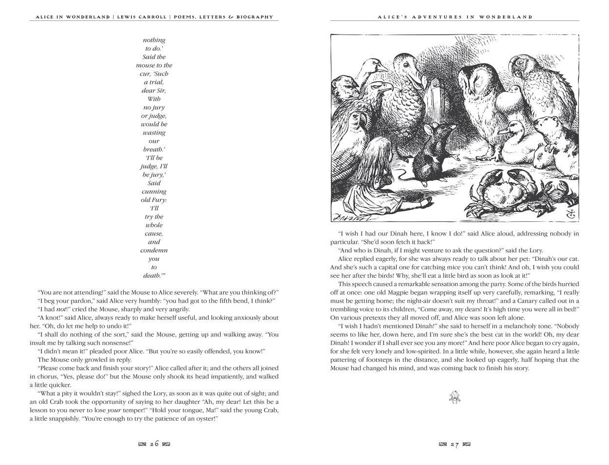 Alices Adventures In Wonderland Poems Letters