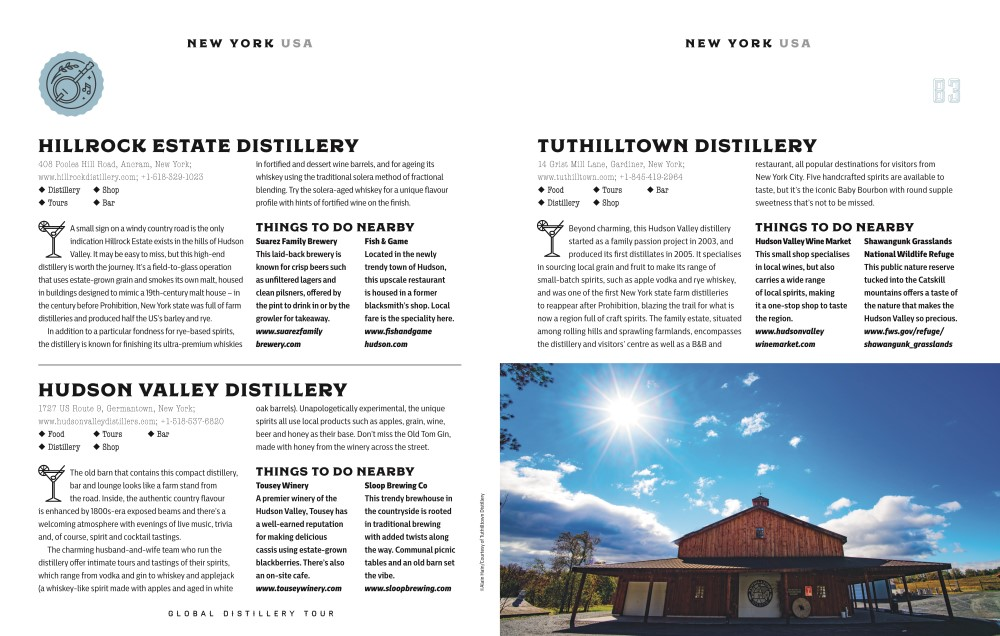 Lonely Planet's Global Distillery Tour, Lonely Planet by