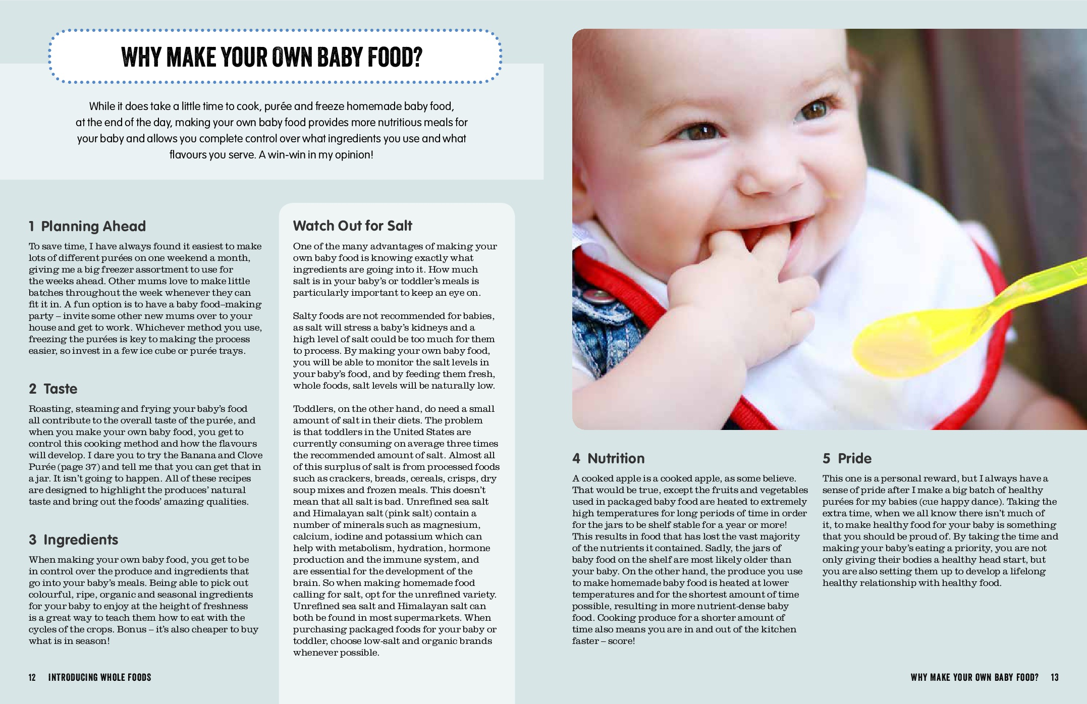 Uncategorized How You Make A Baby booktopia whole food baby 200 nutritionally balanced recipes take a look inside