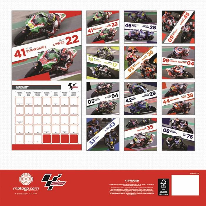 Calendar Book 2018 : Booktopia motogp official calendar