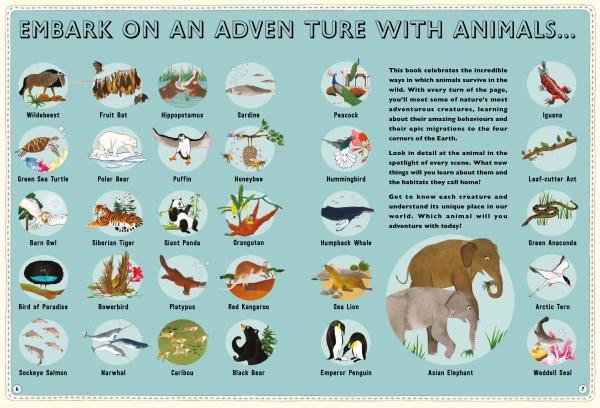 Booktopia atlas of animal adventures natural wonders for Atlas natura