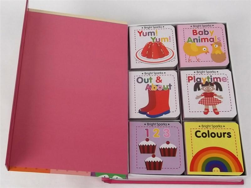 6 First Word Books For Girls Bright Sparks Early Learning By