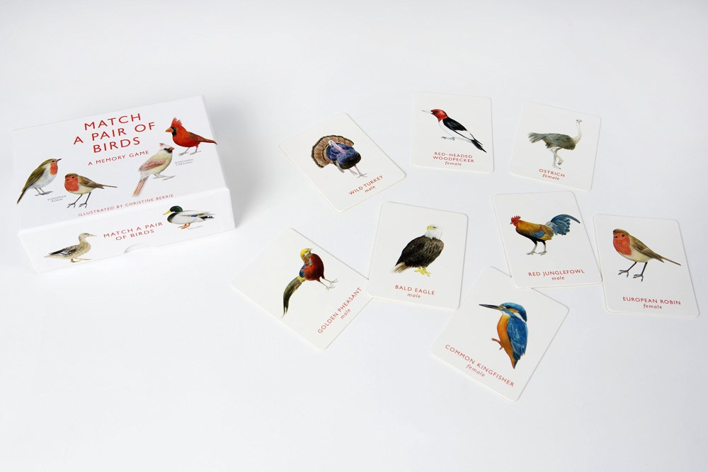Match a Pair of Birds, A Memory Game by Christine Berrie