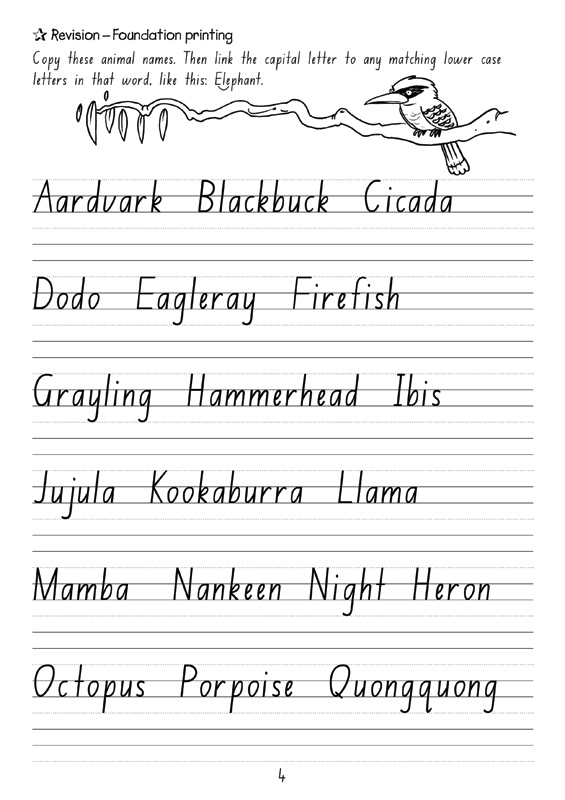 Booktopia nsw targeting handwriting year 4 student book by take a look inside fandeluxe Image collections