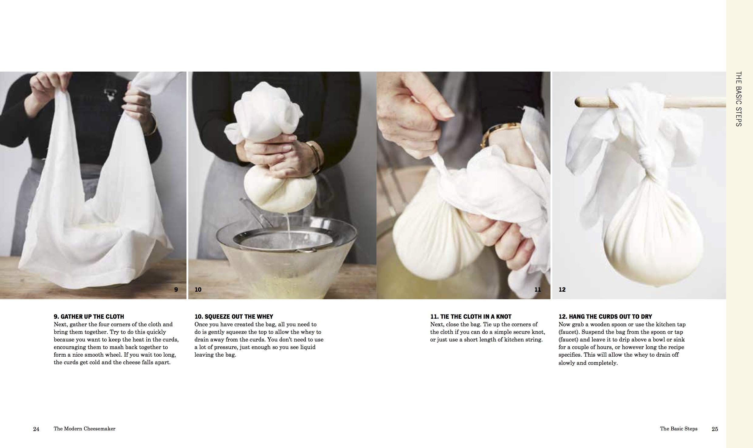 The Modern Cheesemaker, Making and Cooking With Cheeses at