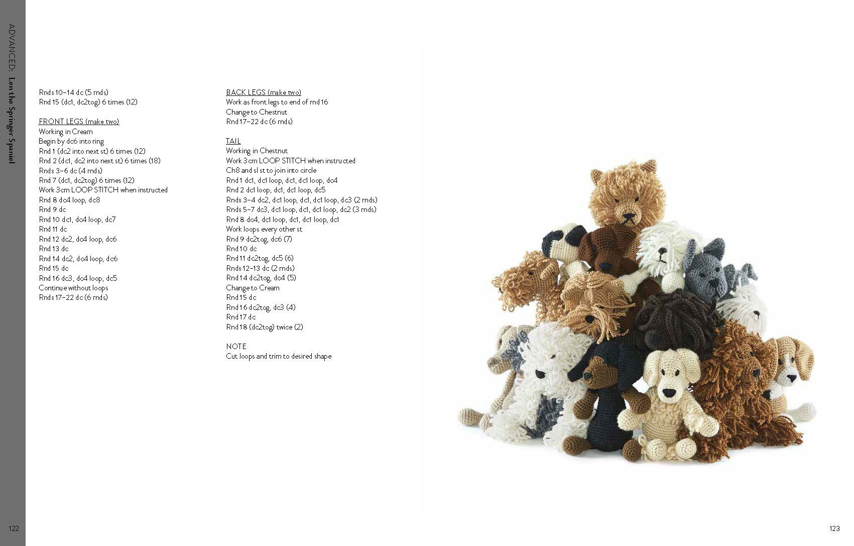 Edwards Menagerie Dogs 50 Canine Crochet Patterns By Kerry Lord