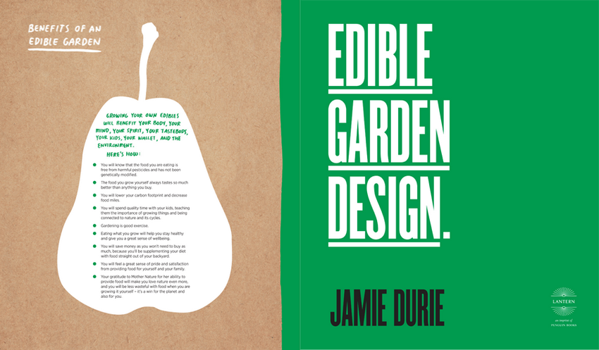 Booktopia Edible Garden Design Delicious Designs From the