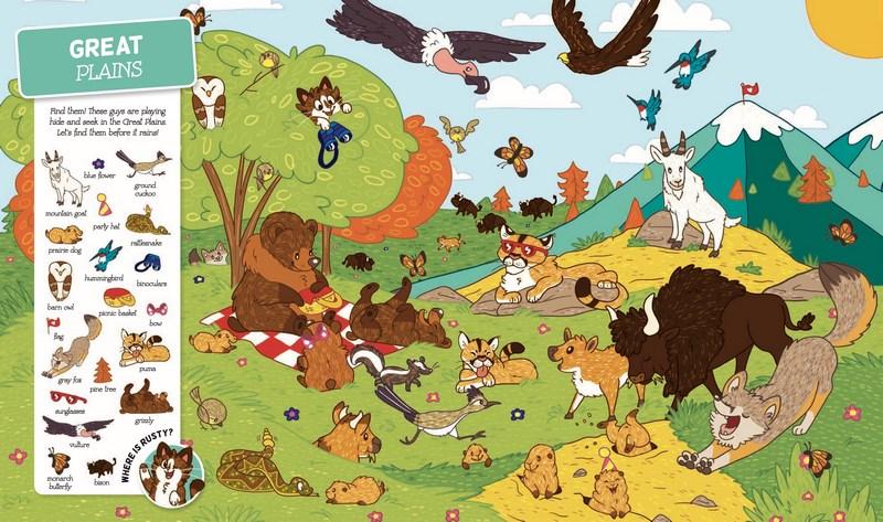 Seek and Find, Animals around the World by Aubry Cohen ...