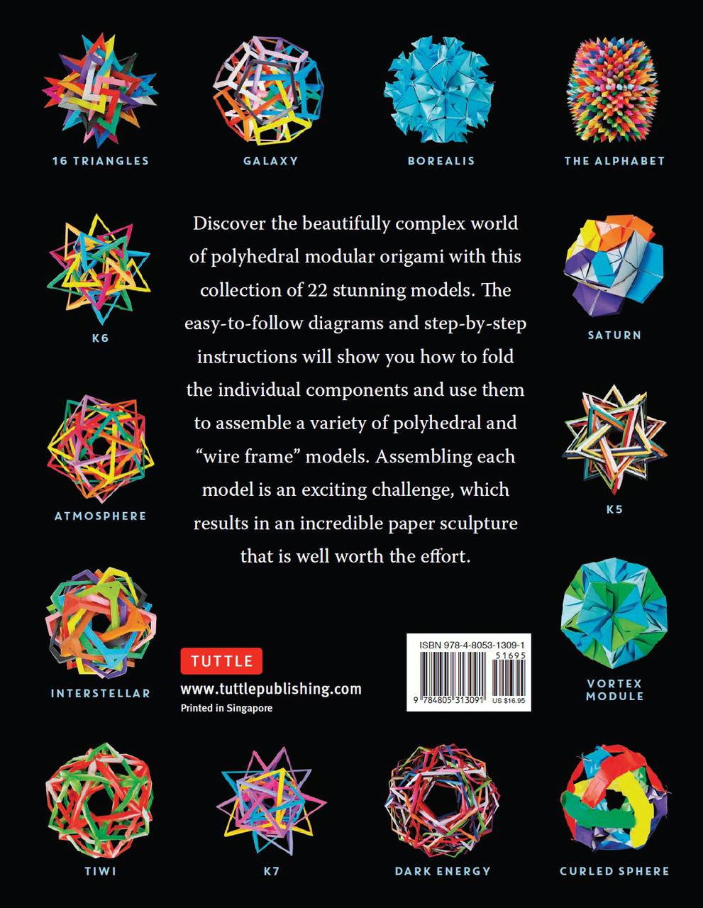 Mind Blowing Modular Origami The Art Of Polyhedral Paper Folding By Complex Diagrams Description