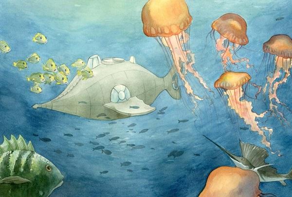 Twenty Thousand Leagues Under The Sea By Francesca Rossi